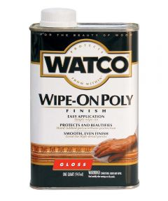 WATCO Wipe-On Poly, Quart, Gloss