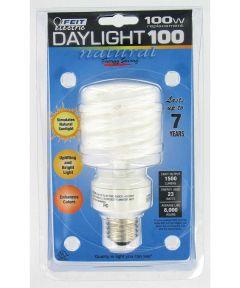 Feit Electric 23 Watt Daylight 100 CFL Spiral  Bulb