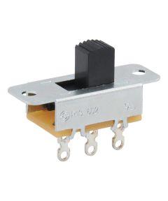 On-On 3-Terminal SPDT Slide Switch (6 Amp-125 Volt x 3 Amp-250 Volt)