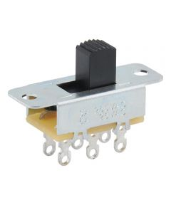 2-Position 6-Terminal DPST Slide Switch (6 Amp-125 Volt)