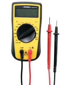 4 Function Manual Digital Multimeter With LCD Display