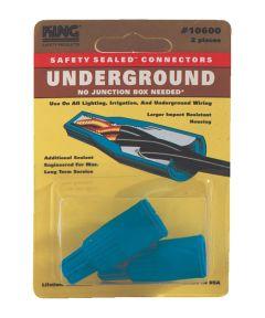 Blue Underground Wire Connectors 2 Count