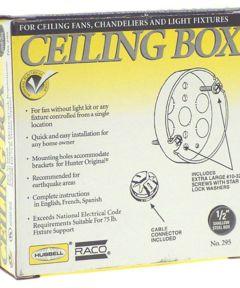 4 in. Round Ceiling Fan Box