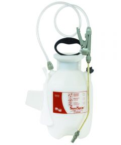 SureSpray Deluxe Compression Sprayer, 1 gal Polyethylene Tank, Polyethylene