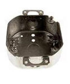 4 In. Octagon Boxes, Non Metal Clamp Ears