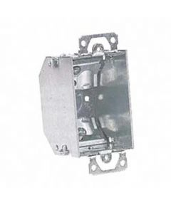 Single Gang Switch Box With NM Ear Beveled