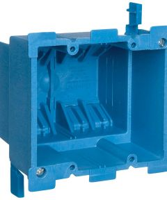 SuperBlue Hard Shell Work Box Double Gang