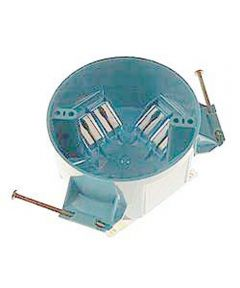 4 in. Round Ceiling Box w/Nails