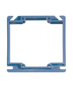 4 in. Two Gang Square Box Cover