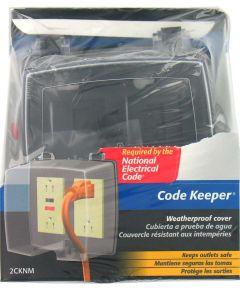 2 Gang Code Keeper Weatherproof Cover