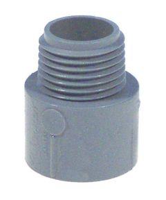 1/2 in. Non Metallic Male Terminal Adapter Slip To Thread