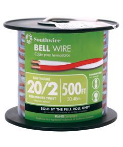 20 Gauge 2 Wire Twisted Bell Wire (Sold Per Foot)