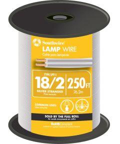Silver 18 Gauge 2 Wire Lampwire (Sold Per Foot)