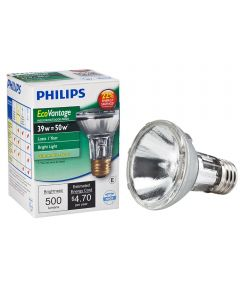 39 Watt Soft White PAR20 Spot Halogen Light Bulb