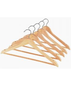 Whitmor Wood Suit Hanger with Bar
