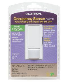 White Occupancy Sensor Switch