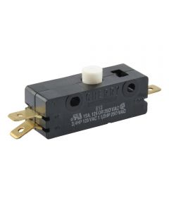 Normally On/Off Quick Connect Terminal Momentary Switch (15 Amp-125 Volt x 15 Amp-250 Volt)