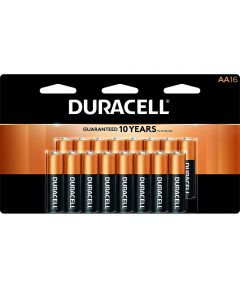 Duracell CopperTop AA Alkaline Battery, 16 Pack