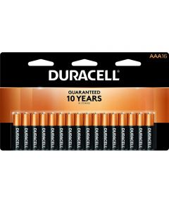 Duracell CopperTop AAA Alkaline Battery, 16 Pack