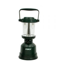 Dorcy 400 Lumen Waterproof LED Floating Twin Globe Camping Lantern, 4-Cell D