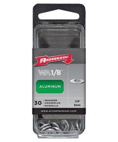 Rivet Washer, 1/8 in., Aluminum