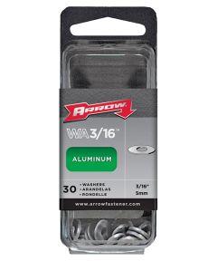Rivet Washer, 3/16 in., Aluminum