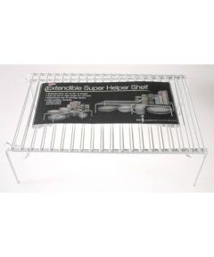 Extendible White Super Helper Shelf