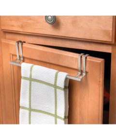 Metal Over The Cabinet Towel Bar