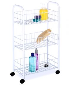 Small White Household Cart