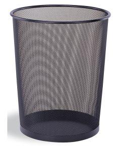 Black Round Wastebaskets