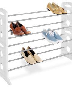 20 Pair Floor Shoe Stand