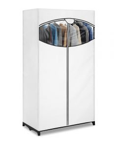 36 in. x 19.5 in. x 64 in. White Clothes Closet