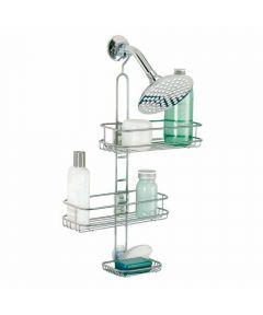 Linea Adjustable Metal Shower Caddy