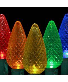 25 Multi Color C9 LED Christmas Lights String Set