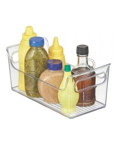 Fridge Binz Condiment Caddy Organizer, Clear