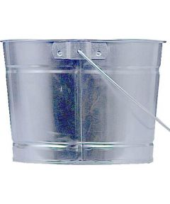 2.5 Quart Metal Pail With Handle