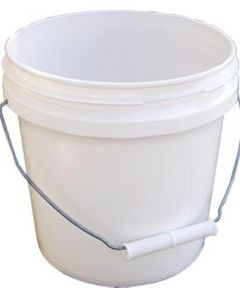 1 Gallon White Industrial Pail