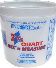 2.5 Quart Mix'n Measure Container