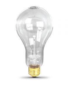300 Watt Clear Incandescent Light Bulb