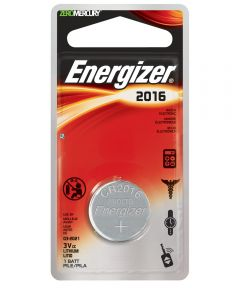 Energizer 2016 3V Lithium Battery, 1 Pack