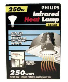 Infrared Heat Lamp Light Bulb