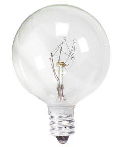 40 Watt  G16 1/2  Clear Globe Light Bulb