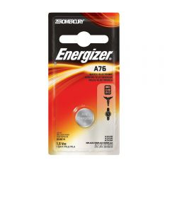 Energizer A76 Watch/Electronic Battery, 1 Pack