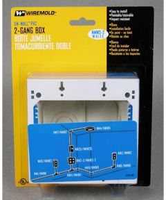 Double Gang Switch Box