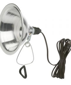 8.5 in. Reflector Clamp Light With 6 ft. Cord