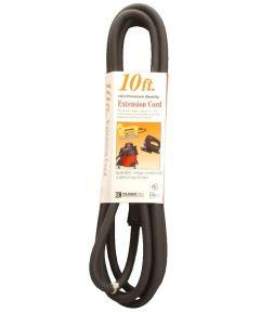 10 ft. 16/3 Black Vinyl Outdoor Extension Cord