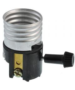 Lampholder Socket, Interior, 3-Way, Phenolic