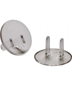 Receptacle Safety Caps, Clear