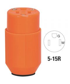 High Visibility Nylon Connector, Orange