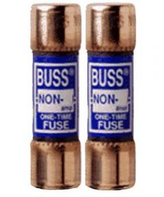 50 Amp 250 Volt Fast Acting Cartridge Fuses 2 Count